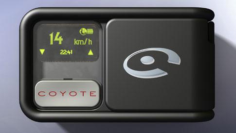 Mini Coyote, avertisseur de radar plus petit et moins cher Radars mobiles en temps réel