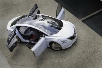 Nissan Ellure concept,au salon automobile de Los Angeles, Nissan expose son prototype Ellure. C'est ...