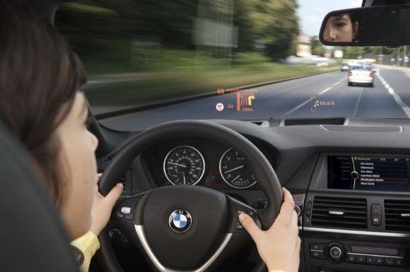 Le nouvel affichage de BMW