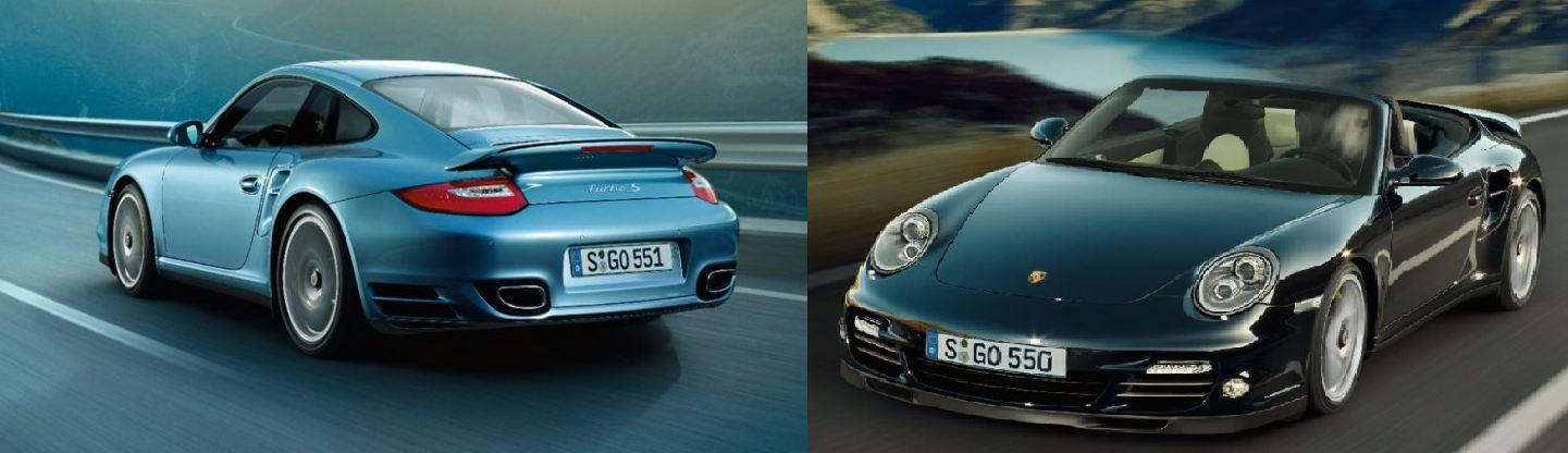 Petite balade en Porsche 911 Turbo S, (Vidéo) Envie de faire un tour ?