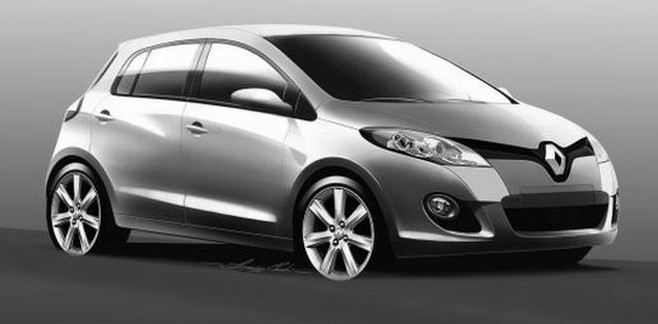 Prévue pour fin 2012, la nouvelle Clio concurrencera la future Peugeot 208 en proposant un design am...