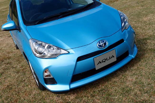 La nouvelle Toyota Aqua