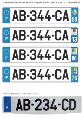 A compter du 15 avril 2009, les véhicules neufs recevront un nouveau numéro d'immatriculation (à par...