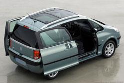 Peugeot 1007 1.4 Sporty - 90cv Le moteur est loin d'être un foudre de guerre
