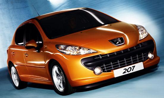 Peugeot 207 Meilleure voiture de l'année 2008 au Japon
