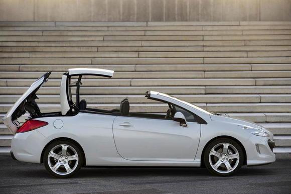 Peugeot 308 CC (Vidéo) Tenue de route extraordinaire
