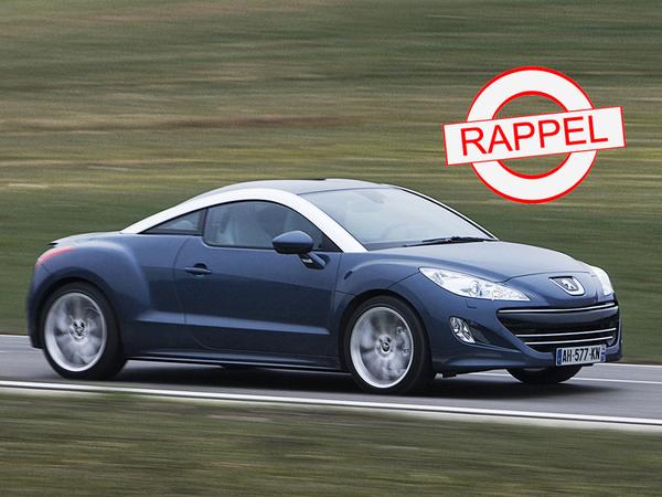 Peugeot rappelle ses RCZ!