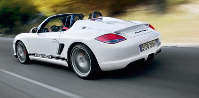 Soldes Auto La Porsche Boxster Spyder à 43€