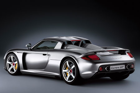 La retraite de la Porsche Carrera GT