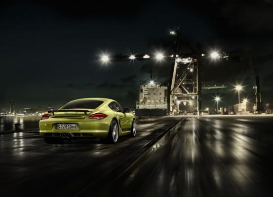 La Porsche Cayman R : 4.9 secondes sont demandées pour le 0 à 100km/h !