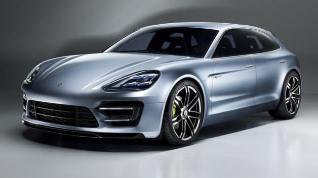 Dévoilée lors du Monial de l'automobile à Paris en septembre dernier, le concept de la Porsche Panam...
