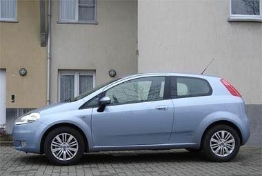 Fiat Punto 1.3 JTD Gain en habitabilité