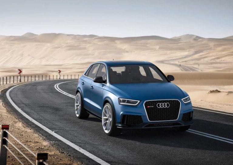 La semaine prochaine, Audi va présenter au salon de Pékin, son nouveau concept-car le RS Q3.