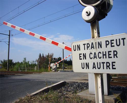 Le premier radar de passage à niveau,  En Picardie.