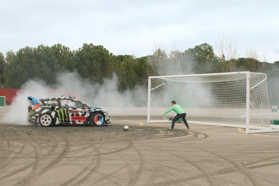 Le Footkhana, un mélange de football et de rallye automobile avec la Fiesta ST RX43 (Vidéo)