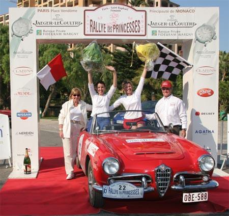 Le Rallye des Princesses Le luxe de prendre du temps pour soi... tout simplement