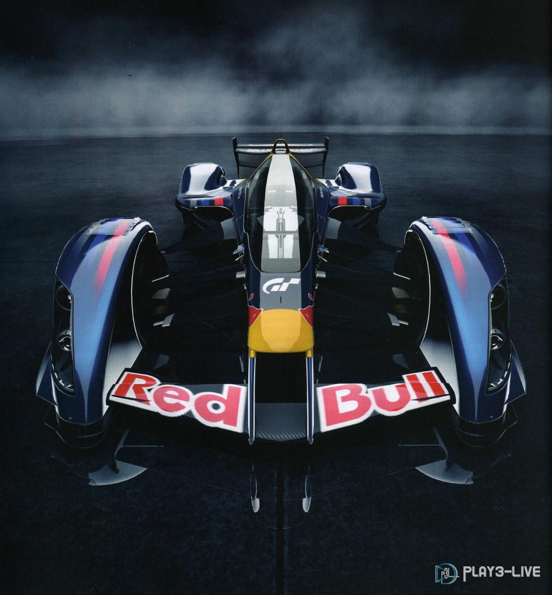 Red Bull X1 Prototype dévoilée Dans le jeu vidéo Gran Turismo 5