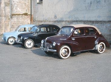 La Renault 4cv (R1060) Née sous la révolte !