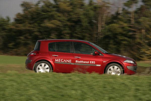 Mégane Berline et Mégane Estate Roulent au bioéthanol E85