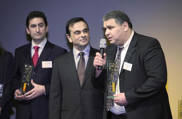 Les « Renault Global Quality Award » Décernés par Renault à ses Concessionnaires