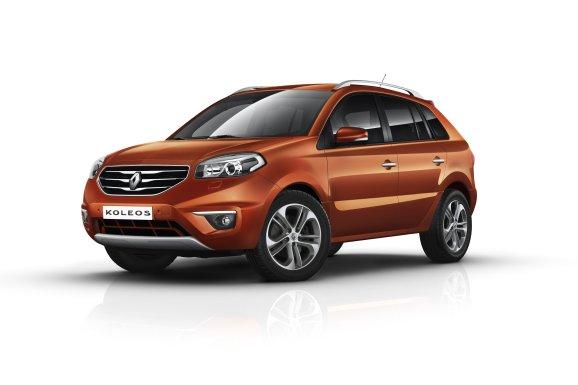 Renault offre un nouveau visage à son crossover Koleos.