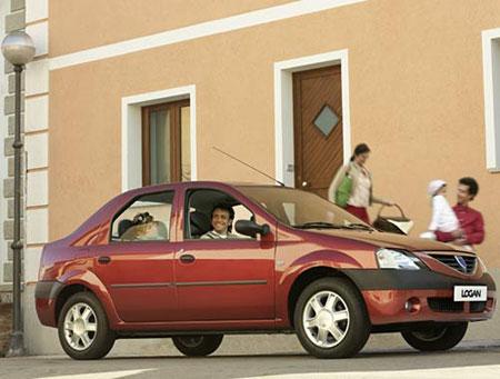 Dacia Logan Renault a d'abord été très agréablement surpris