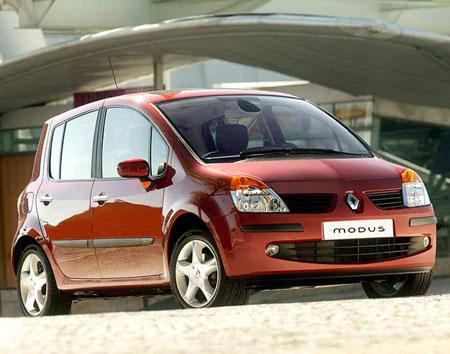 Renault Modus 1.5 dCi 21 modèles sont disponibles