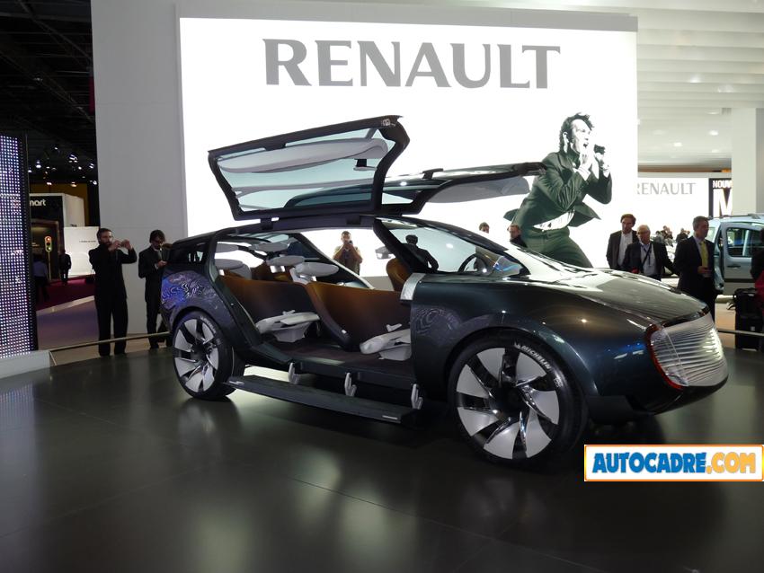 Renault Ondelios au mondial auto de Paris 2008   Un hybride diesel (Vidéo)