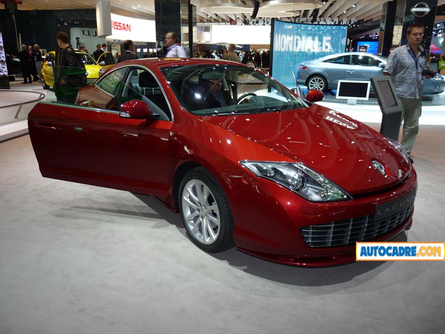 La Nouvelle Mégane Coupé se dévoile au Mondial de Paris. Renault a voulu un design