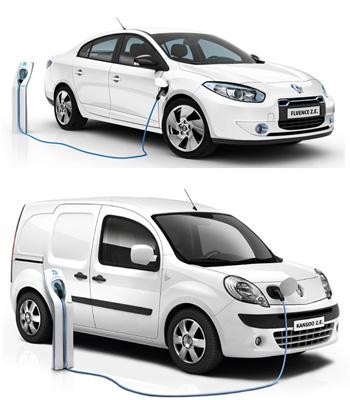 C'est lors de sa visite au technocentre de Renault qu'Éric Besson, Ministre chargé de l'industrie et...