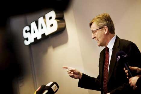 Saab obtient son redressement judiciaire  Ses ventes ont plongé de 38%