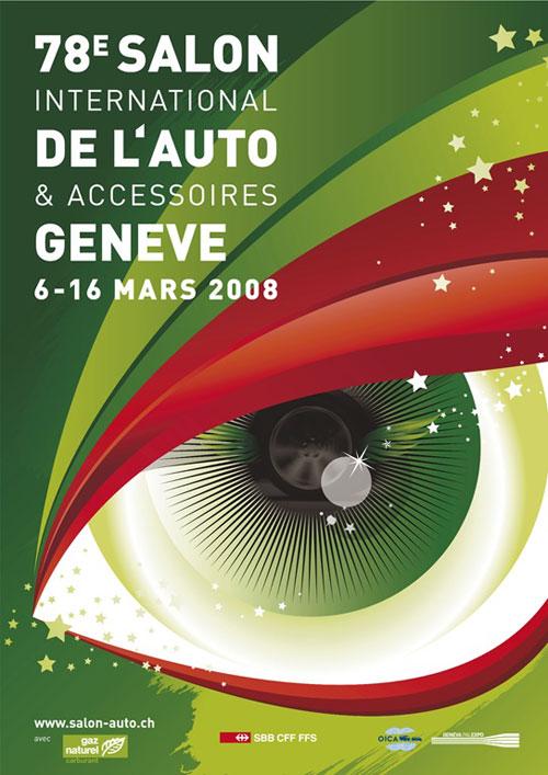 Salon Automobile de Genève 2008 photos et vidéos Très riche en nouveautés
