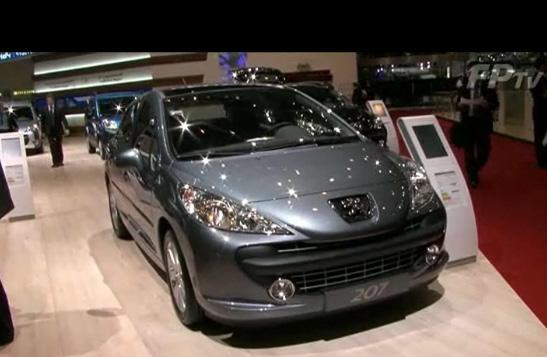 Reportage réalisé lors du salon de l'auto de Genève en 2009. Présentation des nouveautés Peugeot : 3...