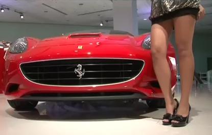 Vidéo des plus belles hôtesses du salon auto de Los Angeles 2008...