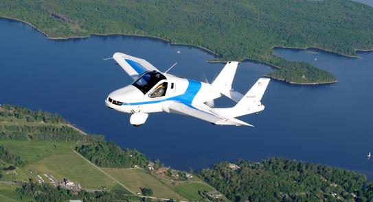 Rendez-vous fin 2015 pour le lancement de la première voiture volante, inspirée d'une Ford Fusion  (Vidéo)