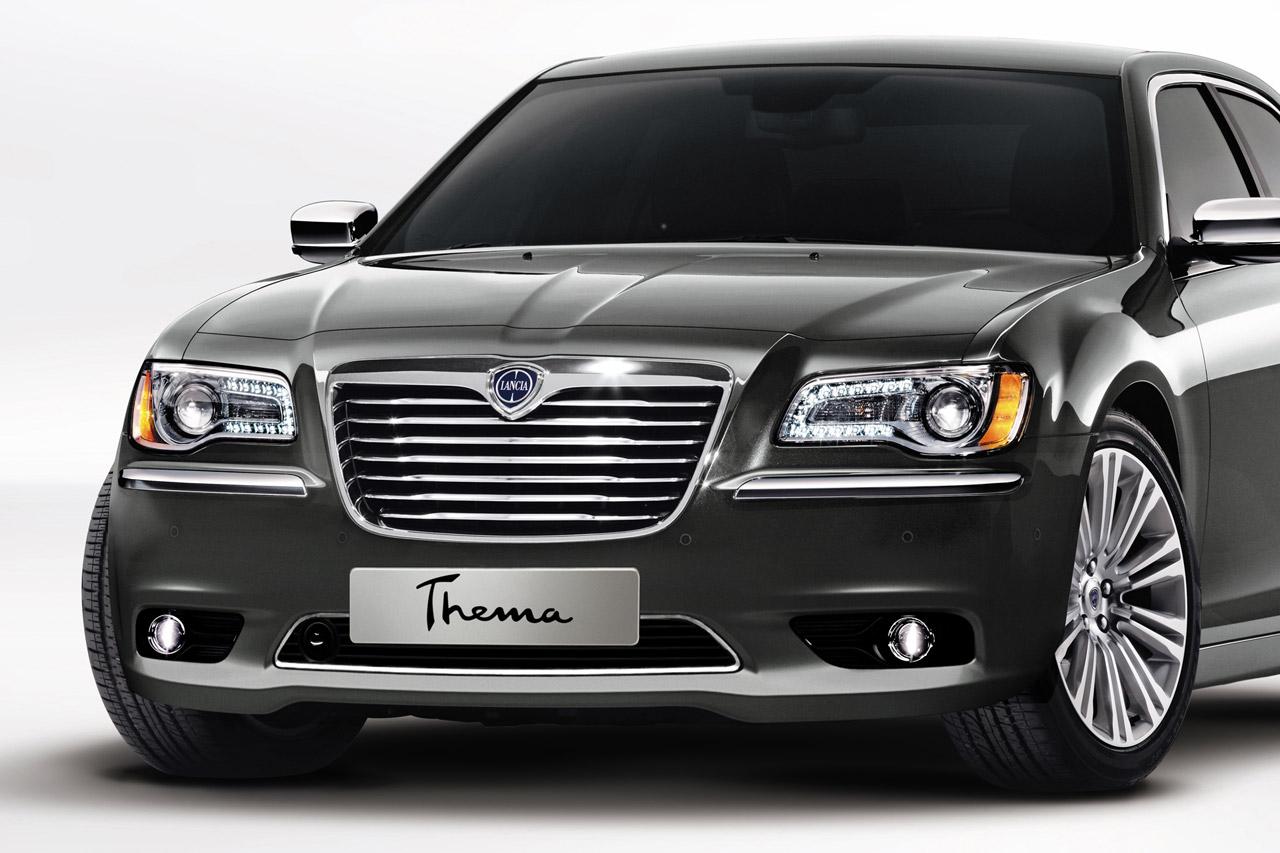 Aperçue au salon de Genève, plus récemment à celui de Francfort la Lancia Thema.