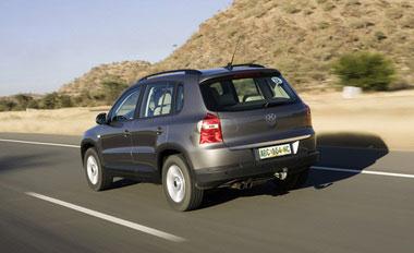 Le Tiguan en Namibie Une panoplie d'aides à la conduite