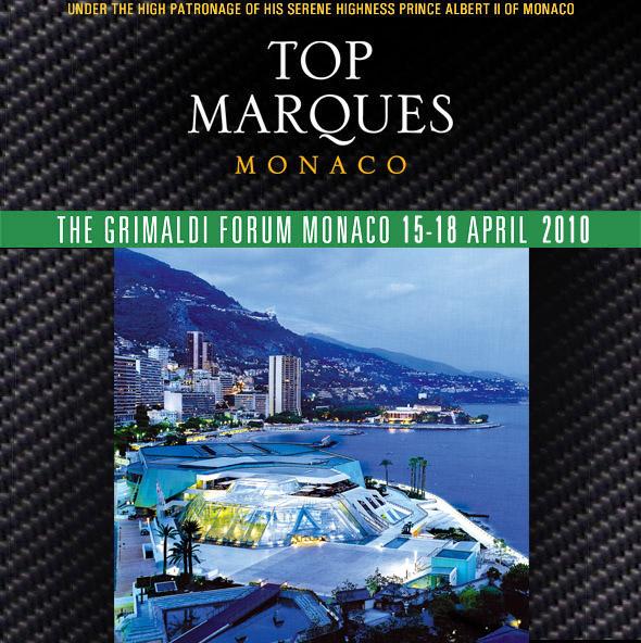 Du 15 au 18 avril 2010 s'est déroulé le salon top Marques à Monaco, il s'agit là du salon dédié à l'...