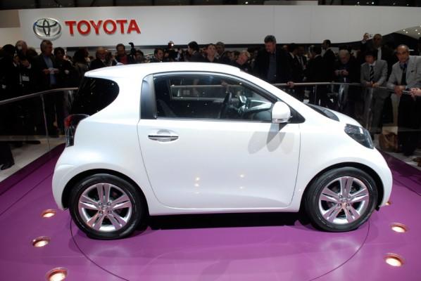 La future petite Toyota ne mesurera que 2,98m, soit à peine 30cm de plus que la très citadine Smart ...