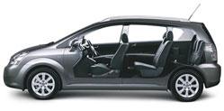 Toyota Corolla Verso 2.2 D-4D Linea Sol Pack 7pl - 177cv Le silence de fonctionnement de la Corolla est impressionnant