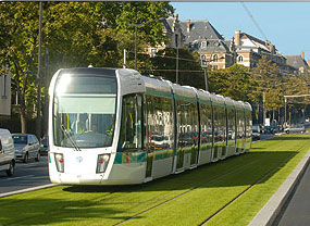 Le tramway de Paris, avantages et inconvenants