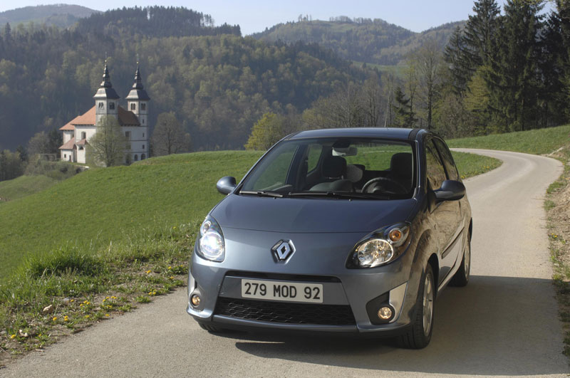 Twingo essence, 120 gr/km de CO2