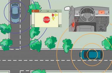 V2V : la communication entre véhicules Par General Motor