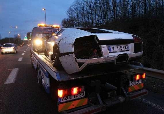 Valbuena victime d'un accident de la circulation routière
