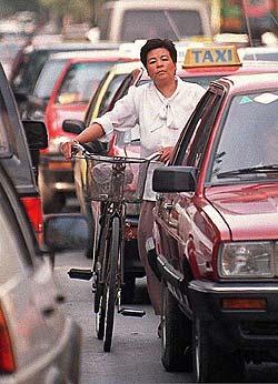 Journée sans voiture en Chine 1200 voitures en plus par jour