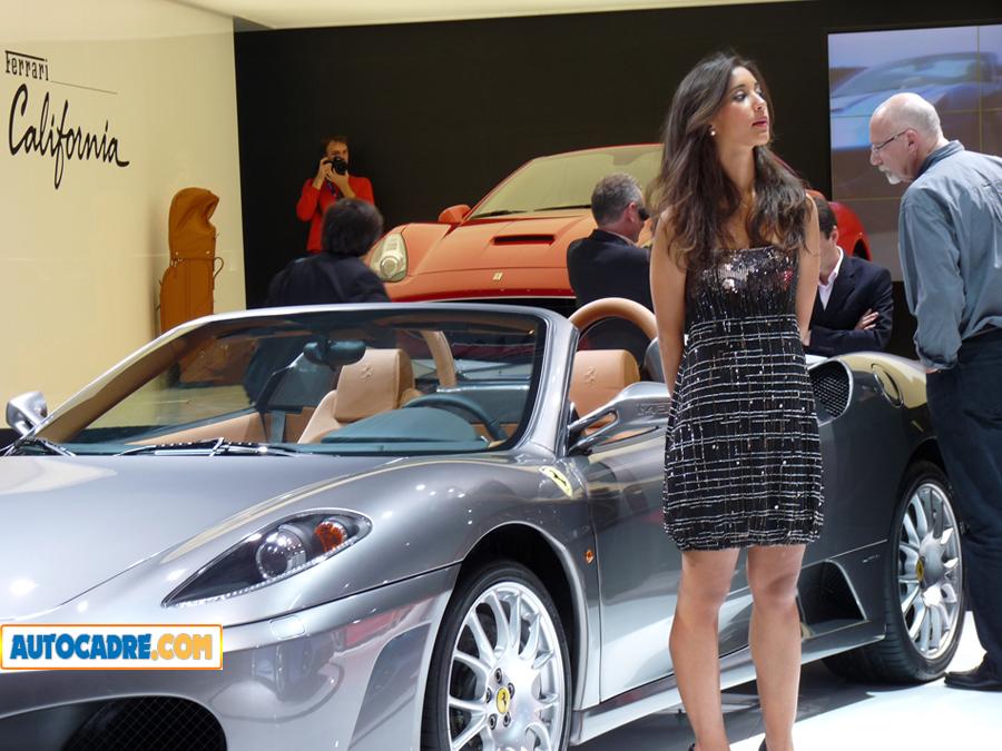 Les voitures de rêve du mondial auto de Paris 2008 (Vidéo)  Présentation de ces voitures de luxe en photos et vidéos