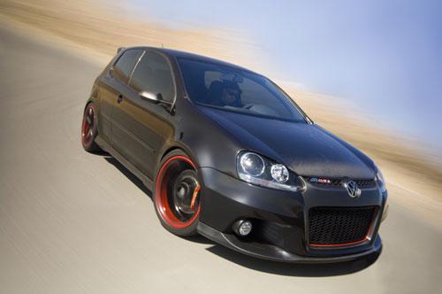 Volkswagen R GTI Concept 400 chevaux avec du carburant haute performance de 100 octane