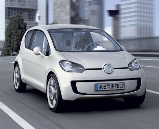 Volkswagen Up Une version de série