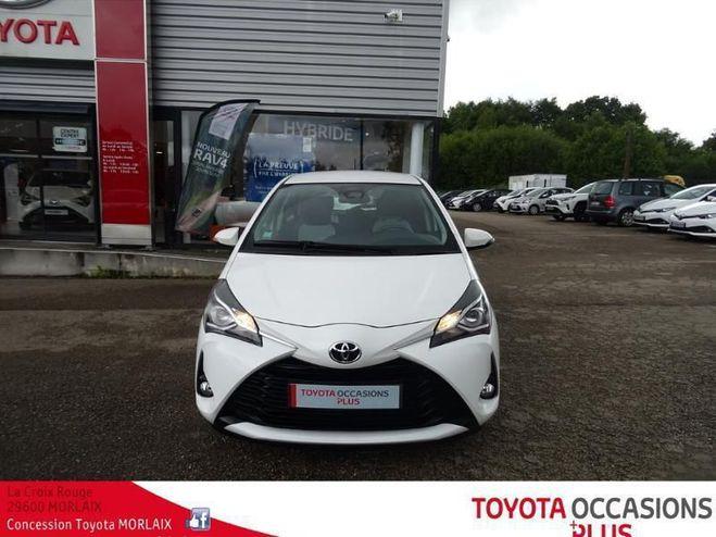Toyota Yaris 110 vvt-i dynamic 5p Blanc de 2018