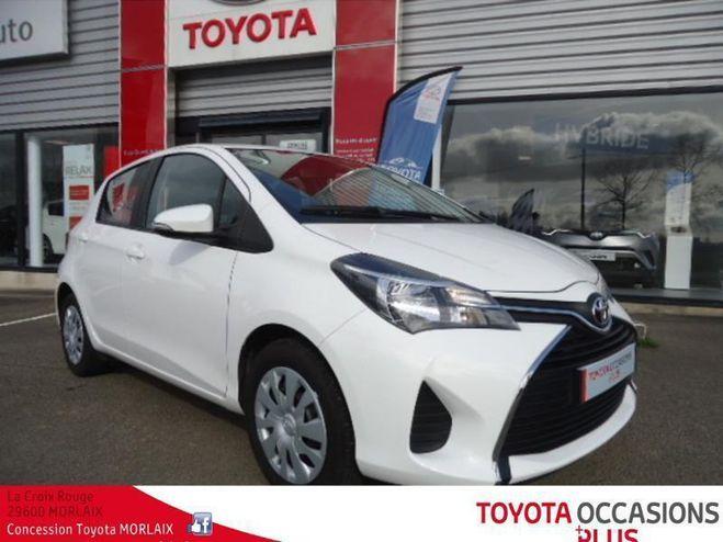 Toyota Yaris 69 vvt-i france 5p Blanc de 2017